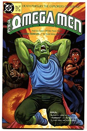 OMEGA MEN #37 1st Lobo in costume-DC 1986 -