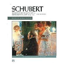 Schubert - Impromptus, Opp. 90, 142, and Moments Musicaux, Op. 94