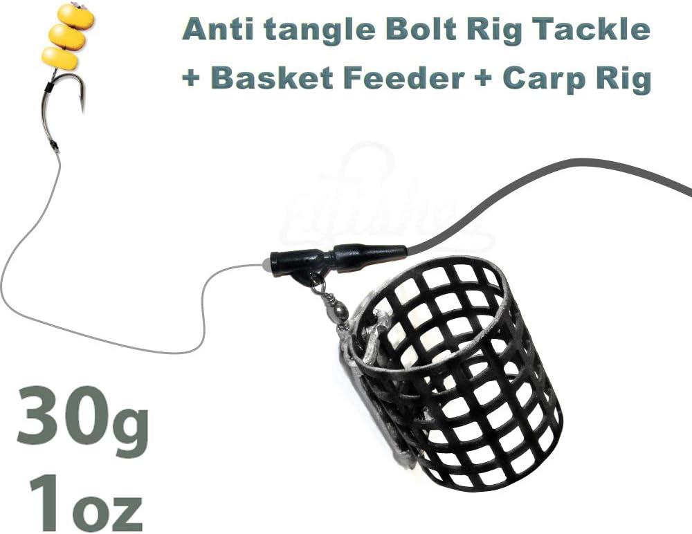 Cage feeder-Anti Tangle Feeder Boom-Rubber Stopper