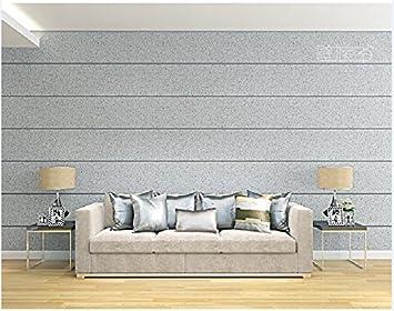 YUANLINGWEI Reine Farbe Tapete Kieselalge Schlamm Horizontale Streifen  Tapete Wohnzimmer Fernseher Sofa Hintergrundbild EIN
