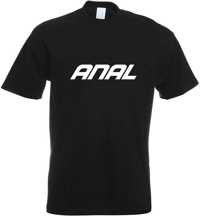 Anal - Arsch - T-shirt à larrière imprimé: Amazon.fr