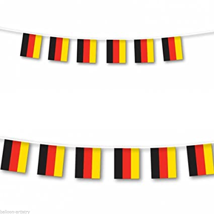 amazon com german flag germany string flag banner 33ft decoration