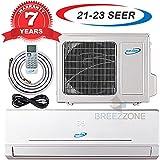 24000 Btu 20.5 SEER Ductless Mini Split DC Inverter Air Conditioner Heat Pump System 208-230 Volt with 15ft Kit (24000 Btu)