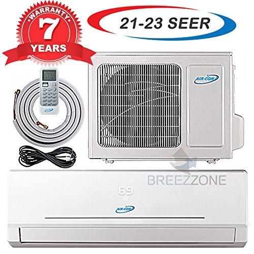 24000 Btu 20.5 SEER Ductless Mini Split DC Inverter Air Conditioner Heat Pump System 208-230 Volt with 15ft Kit (24000 Btu) - 15 Seer Package Unit