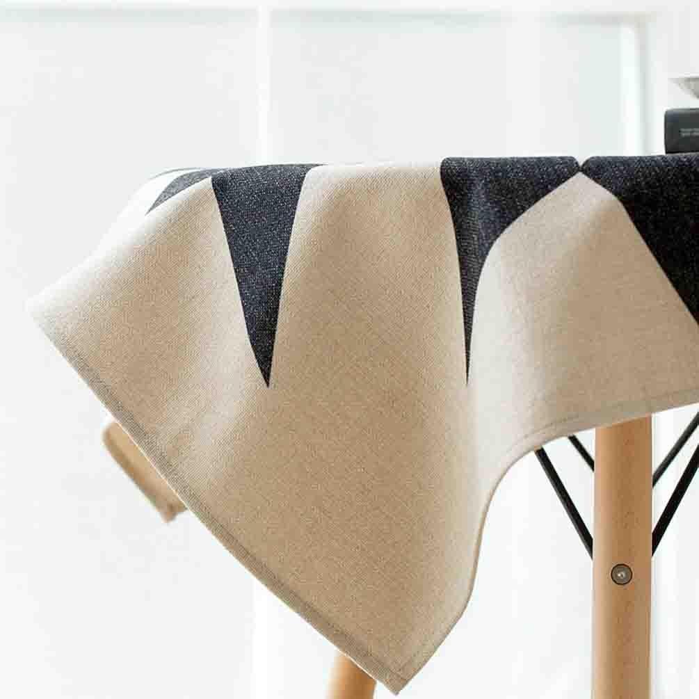 Tischdecken Baumwolle Esstisch staubdicht multifunktionale Esstisch Baumwolle Kaffeetischdecke , 110110cm 8e9622