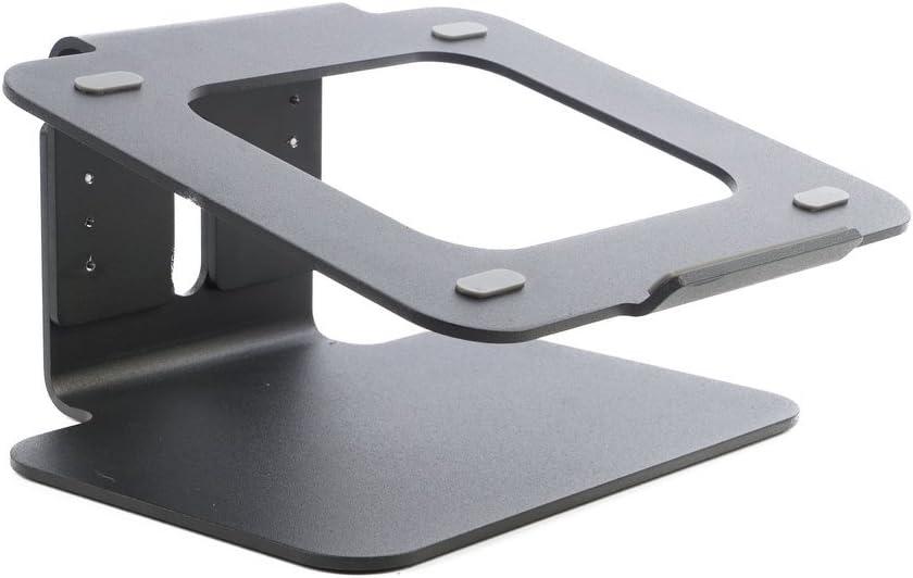 Negro Altura Ajustable Bramley Power Soporte de Escritorio para computadora port/átil de Altura Ajustable de Aluminio s/ólido para Apple Macbook Pro//Air y Todas Las computadoras port/átiles