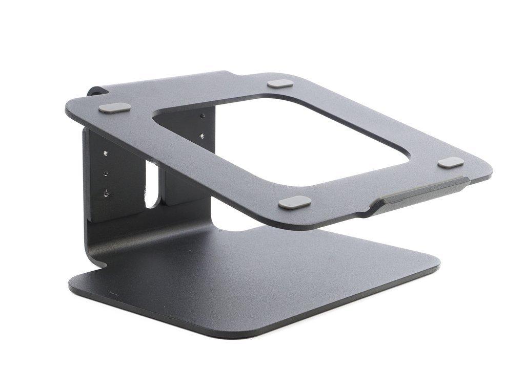 Bramley Power Supporto da Tavolo per Laptop Regolabile in Altezza in Alluminio Solido Apple MacBook PRO/Air e Tutti i Portatili (Altezza Regolabile) … (Argento) BP04A