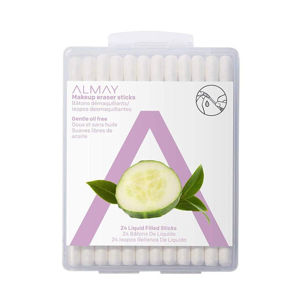 Amazon.com: Almay Oil Free Gentle Makeup Eraser Sticks, Makeup ...
