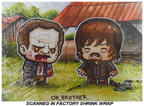 Walking Dead Merle & Daryl Dixon Super Emo Friends Lootcrate October 2014 Exclsuive Mini 7x5-inch print by JSalvador