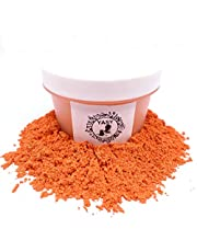 1 OZ Mica Powder in Containers Epoxy Resin Pigment for DIY Soap Making Bath Bomb Colorant Paint Nail Art Eyeshadow Dye (DARK ORANGE)