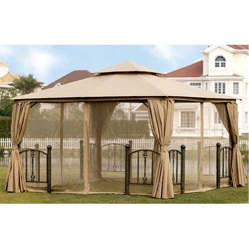 Garden Winds Kilpatrick Lane 12 X 12 Gazebo Replacement Canopy Riplock 350 717964031482 Ebay