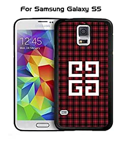 Galaxy S5 Funda Case Brand Logo Givenchy Unique Pattern Creative Customized Snap On Personalized Compatible with Samsung Galaxy S5 i9600