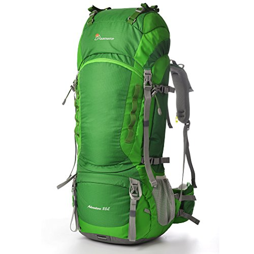 MOUNTAINTOP 80l Hiking Backpack Pine Green