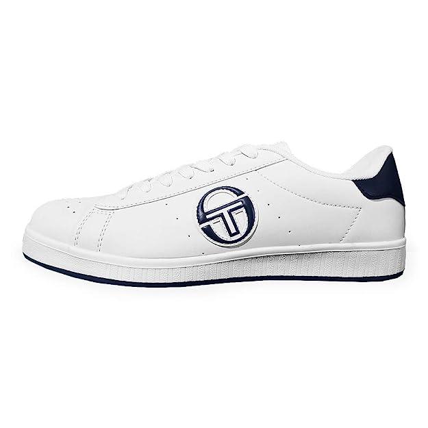 Scarpe Uomo Sergio Tacchini Numero 44 Sneakers Basse Bianche