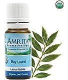 USDA Certified Organic - Bay Laurel (Laurus Bonilis) Therapuetic Essential Oil By Amrita Aromatherapy - SIZE: 10ML