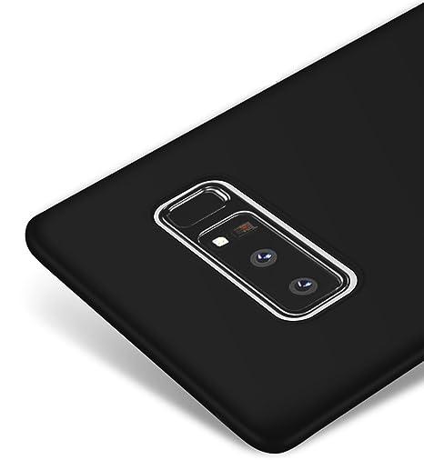 kktick note 8  Vooway Nero Ultra Sottile Custodia Cover Case per Samsung Galaxy ...