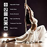 MOPHOTO Dance Pole Static Spinning 45mm, Portable