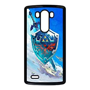 LG G3 Cell Phone Case Black The Legend of Zelda Gquo