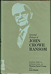 Selected Essays of John Crowe Ransom (Southern Literary Studies)