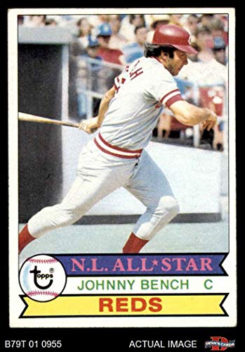 (1979 Topps # 200 Johnny Bench Cincinnati Reds (Baseball Card) Dean's Cards 5 - EX Reds )