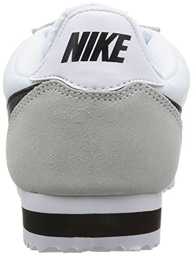 Sneakers Top Nylon light Men's Bone Cortez Low White Nike White White Classic Black qpwXgxxY