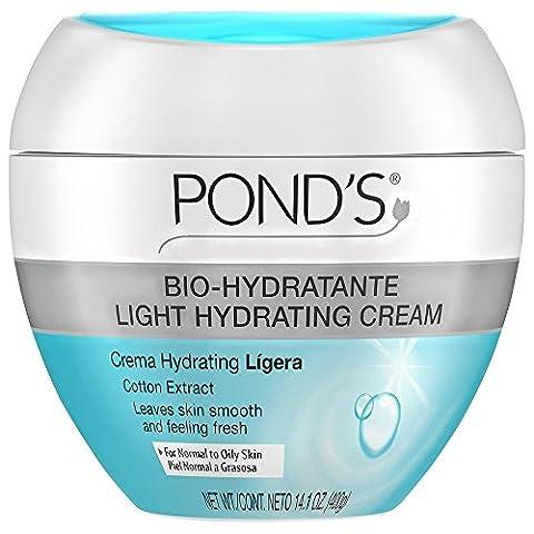 Pond's Bio-Hydratante Hydrating Cream 14.10 oz (Pack of 2) (Ponds Hand Cream)