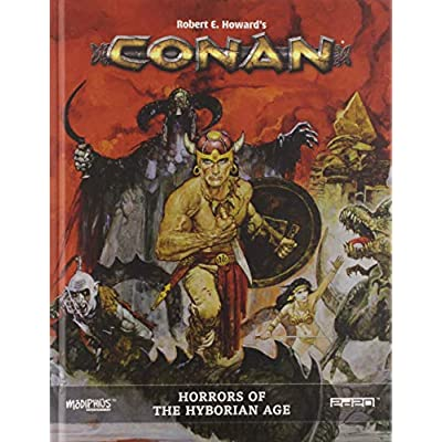 Modiphius Conan: Horrors of The Hyborian Age: Toys & Games