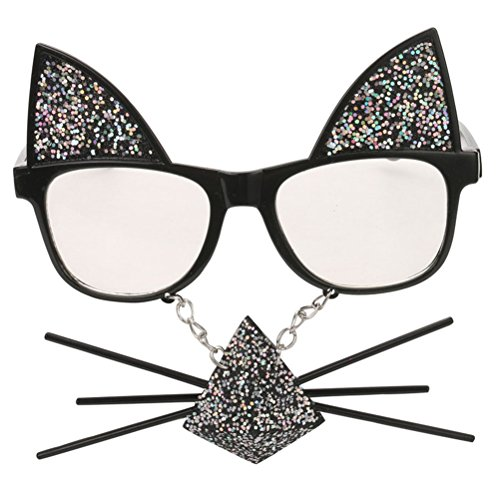 Accesorios la de Gafas Atrezzo Gafas disfraces gato de Night decoración sol partido de para Good barba del X7nSwZA5q
