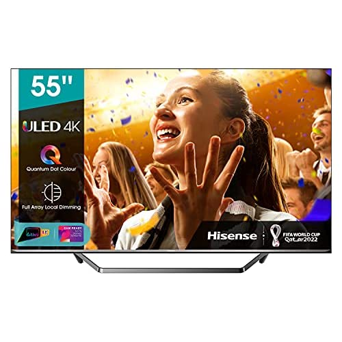 chollos oferta descuentos barato Hisense ULED 2020 55U71QF Smart TV 55 Resolución 4K Quantum Dot FALD Dolby Vision Dolby Atmos Vidaa U 4 0 con IA Alexa built in