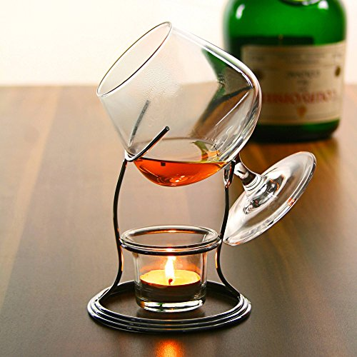 -[ Cognac & Brandy Warmer with Glass  ]-