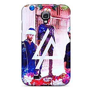 VIVIENRowland Samsung Galaxy S4 Protector Cell-phone Hard Covers Custom HD Linkin Park Pattern [uuL7646DTgH]