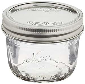 Jarden Home Brands 12Pk 1/2Pt wide Mouth Jar Canning Jars