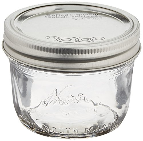 8 oz glass jars - 7