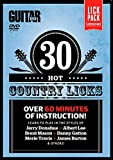 Guitar World -- 30 Hot Country Licks: Over 60 minutes of instruction! (DVD)
