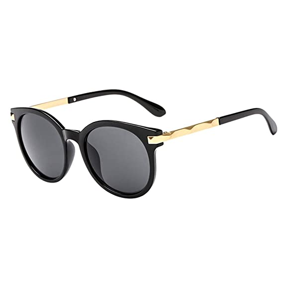 Fine Polarized Sunglasses for Women, Mirrored Lens Fashion ...