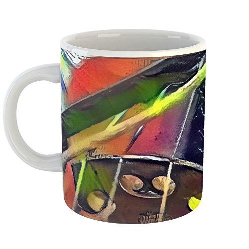 Coffee Gift Concerto (Westlake Art - Musical Instrument - 15oz Coffee Cup Mug - Abstract Artwork Home Office Birthday Christmas Gift - 15 Ounce)