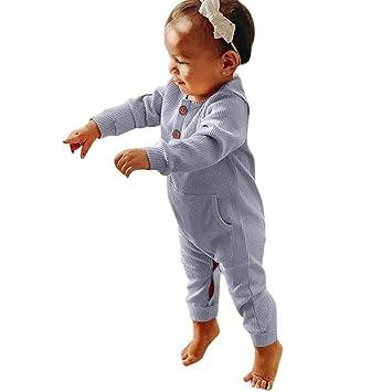 6-9 Months, Blue Gallity Newborn Infant Baby Boys Girls Long Sleeve Romper Pajama Cartoon Bear Unisex Bodysuit Onesies Jumpsuit Outfit Set