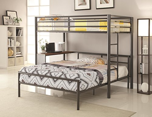 Coaster Home Furnishings Twin-over-Full Workstation Loft Bed