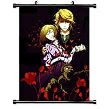 Red Garden Anime Fabric Wall Scroll Poster (32 x 46) Inches[TJ]-Red-12 (L)