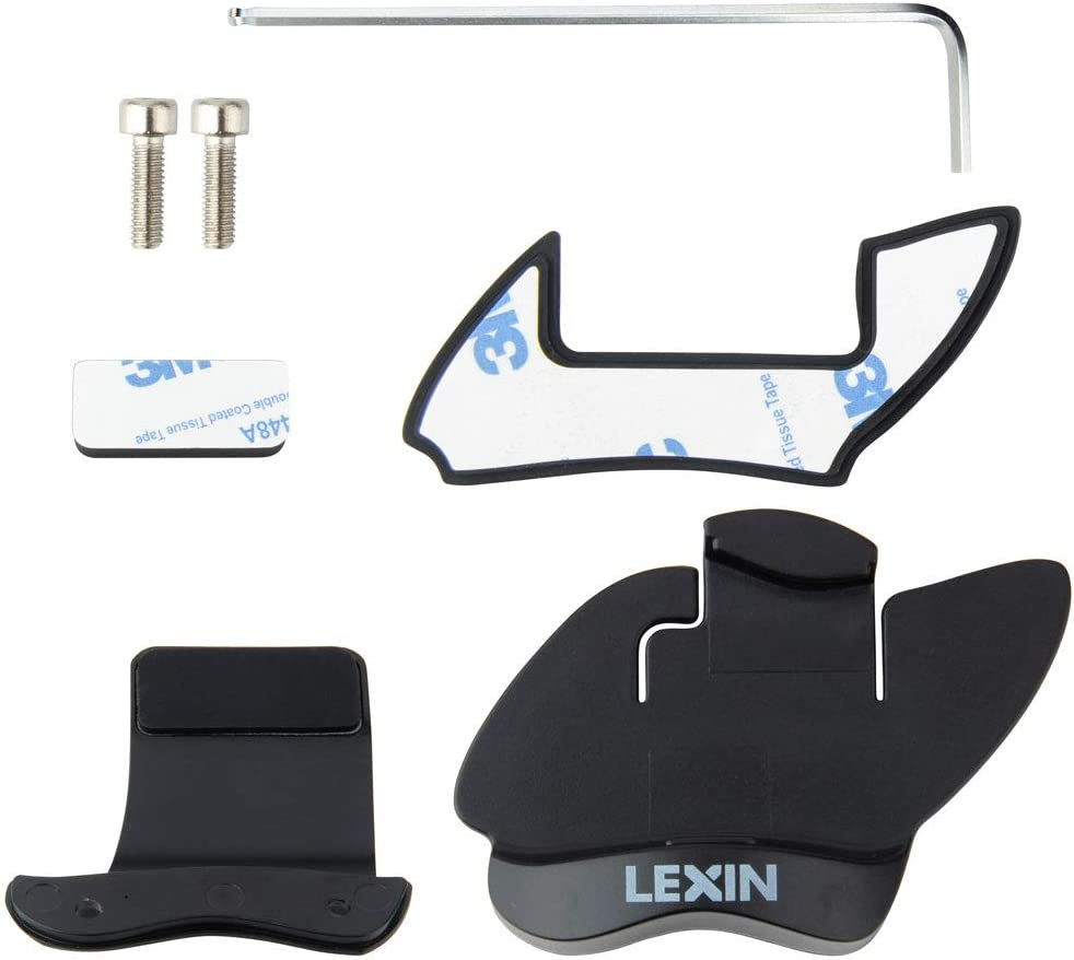 LEXIN Mounting Bracket Set for LX-FT4 Motorcycle Bluetooth Headset