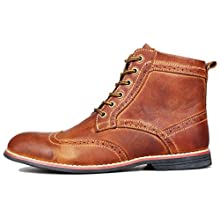 "Brown leather shoes. Type ""Derby"""