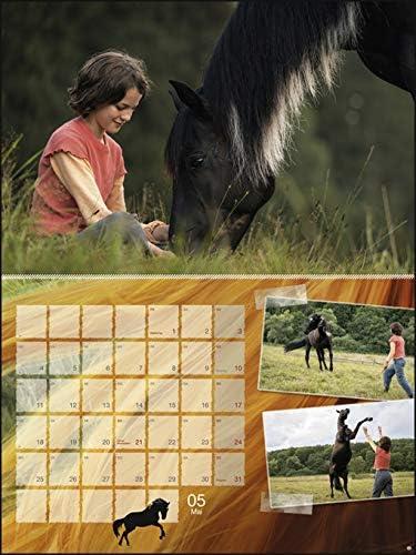 Ostwind Broschurkalender XL - Kalender 2020 - Wandkalender mit Poster - 45cm x 30 cm (offen 45 cm x 60 cm)
