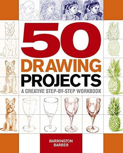 Pdf eBooks 50 Drawing Projects: A creative step-by-step workbook