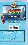 Oahu Surf Guide Hawaii Surfing Waterproof Map by Franko Maps