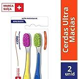 Escova Dental Ultra Soft, Elmex, Pacote de 2