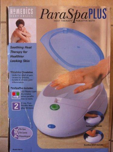 (Homedics PAR70 ParaSpa Plus Paraffin Heat Therapy System)