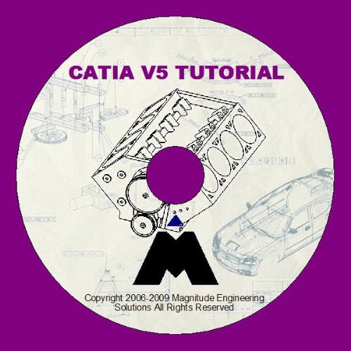CATIA V5 TRAINING TUTORIAL DVD STEP BY STEP