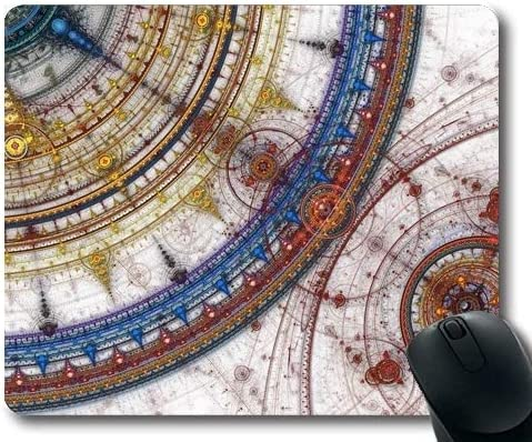 Estera del ratón, Papel Tapiz del Mapa, Mapa, españa, Alfombrilla de ratón con Bordes cosidos: Amazon.es: Electrónica