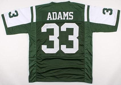 watch 27d2d c5733 Jamal Adams Autographed Signed New York Jets Jersey ...
