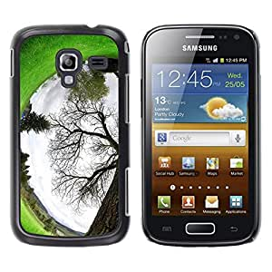 Exotic-Star ( Plant Nature Forrest Flower 94 ) Fundas Cover Cubre Hard Case Cover para Samsung Galaxy Ace 2 I8160 / Ace2 II XS7560M